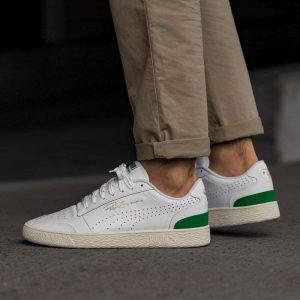 Puma Ralph Sampson Leather White Amazon Green
