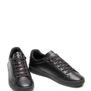 Tommy Hilfiger Corporate Leather Triple Black