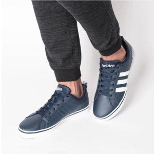 Adidas Vs Pace Navy White