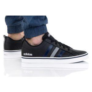 Adidas Vs Pace Black Blue Stripes